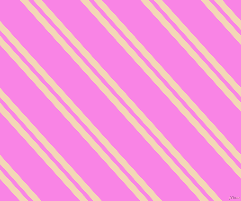 132 degree angle dual striped lines, 20 pixel lines width, 12 and 92 pixel line spacing, Pink Lady and Pale Magenta dual two line striped seamless tileable