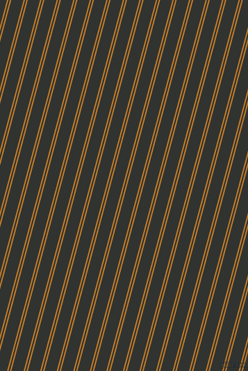 75 degree angles dual stripes line, 2 pixel line width, 2 and 17 pixels line spacing, Pirate Gold and Oil dual two line striped seamless tileable