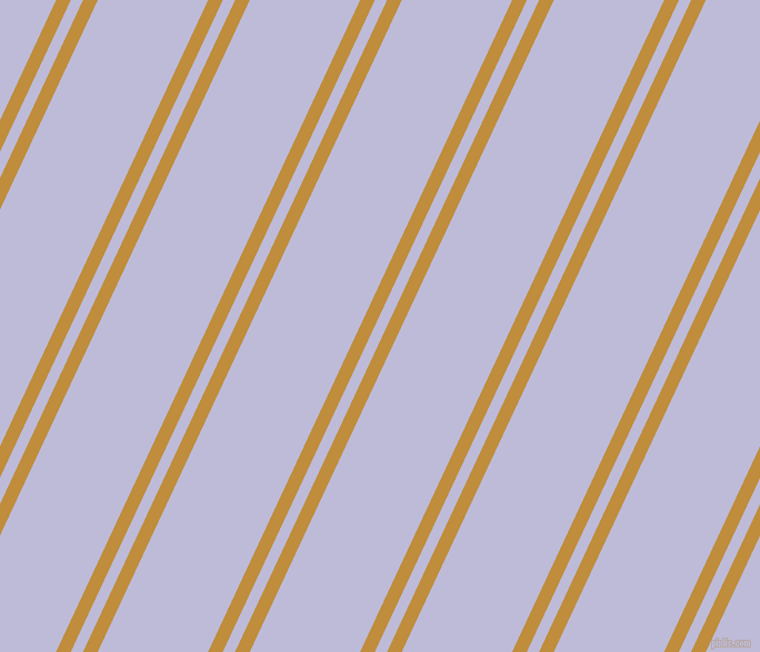65 degree angle dual stripe line, 12 pixel line width, 10 and 90 pixel line spacing, Pizza and Lavender Grey dual two line striped seamless tileable
