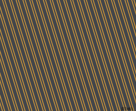 107 degree angles dual striped lines, 3 pixel lines width, 4 and 11 pixels line spacing, Pizza and Steel Grey dual two line striped seamless tileable