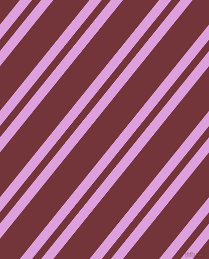 51 degree angles dual stripes line, 19 pixel line width, 14 and 56 pixels line spacing, Plum and Merlot dual two line striped seamless tileable