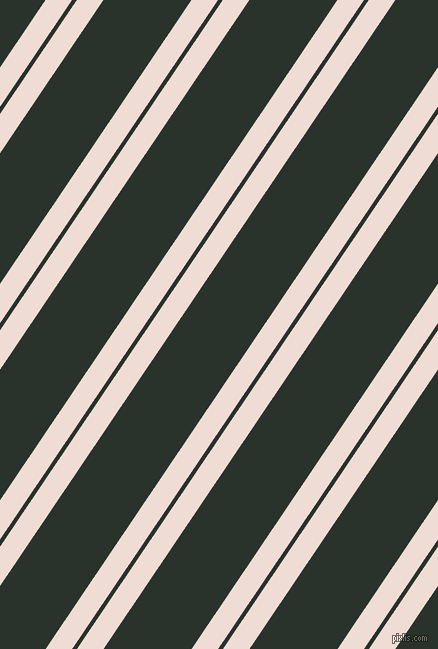 56 degree angle dual stripes line, 22 pixel line width, 4 and 73 pixel line spacing, Pot Pourri and Gordons Green dual two line striped seamless tileable
