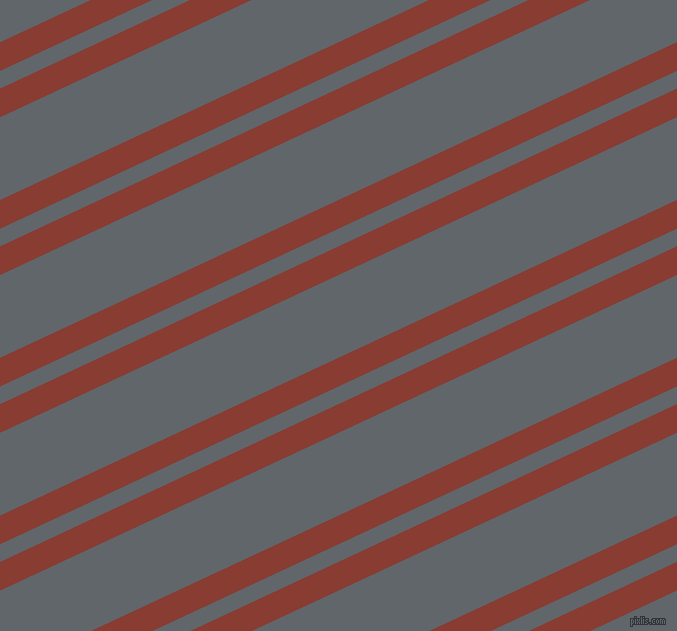 25 degree angle dual stripes line, 26 pixel line width, 16 and 75 pixel line spacing, Prairie Sand and Shuttle Grey dual two line striped seamless tileable