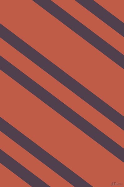 143 degree angles dual stripes lines, 36 pixel lines width, 46 and 121 pixels line spacing, Purple Taupe and Flame Pea dual two line striped seamless tileable