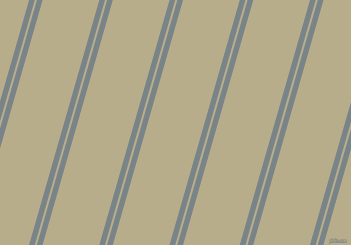 74 degree angles dual striped line, 11 pixel line width, 4 and 109 pixels line spacing, Regent Grey and Chino dual two line striped seamless tileable