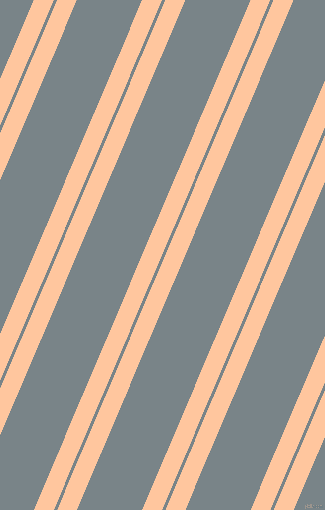 67 degree angles dual stripes line, 37 pixel line width, 6 and 121 pixels line spacing, Romantic and Regent Grey dual two line striped seamless tileable