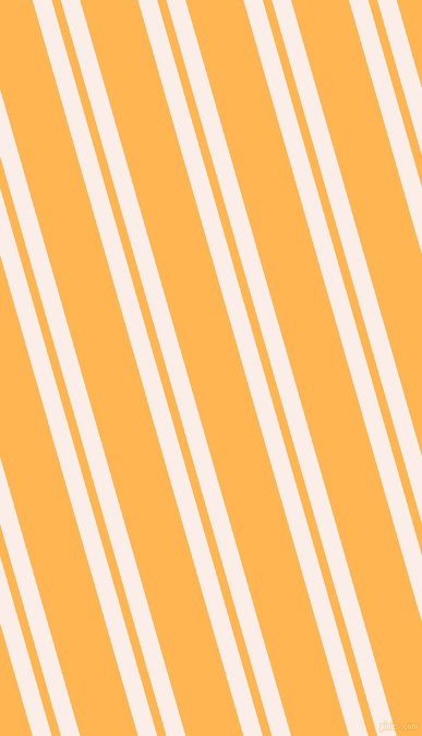 106 degree angles dual striped lines, 17 pixel lines width, 8 and 51 pixels line spacing, Rose White and Koromiko dual two line striped seamless tileable