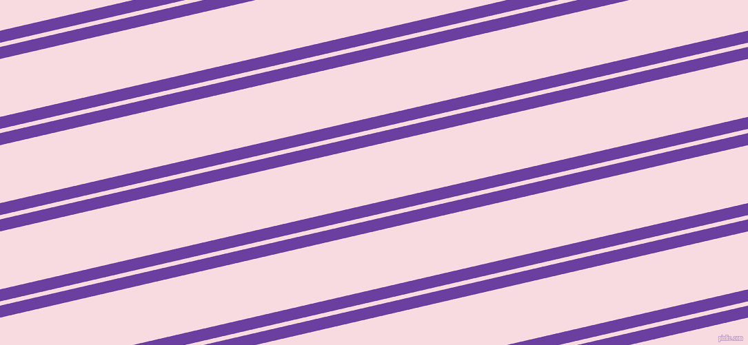 13 degree angle dual striped lines, 17 pixel lines width, 6 and 82 pixel line spacing, Royal Purple and Carousel Pink dual two line striped seamless tileable