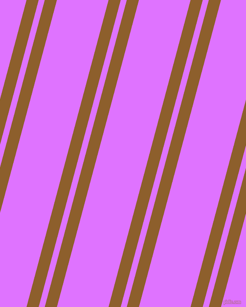 75 degree angles dual stripes lines, 24 pixel lines width, 12 and 102 pixels line spacing, Rusty Nail and Heliotrope dual two line striped seamless tileable