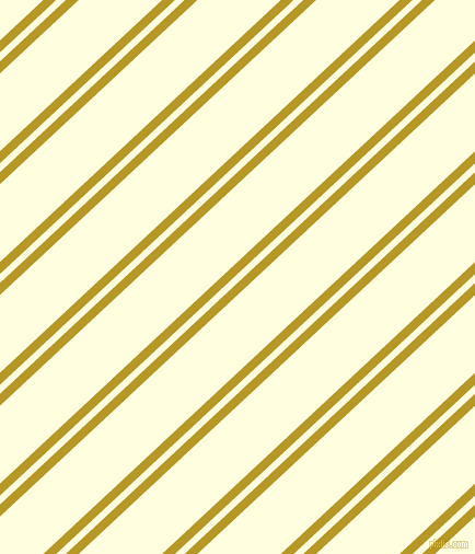 43 degree angle dual stripe lines, 8 pixel lines width, 6 and 52 pixel line spacing, Sahara and Light Yellow dual two line striped seamless tileable