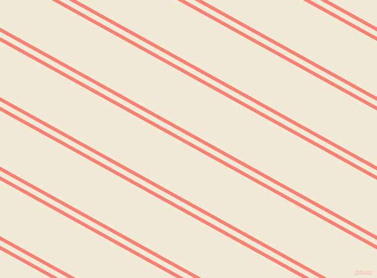 151 degree angle dual stripes lines, 7 pixel lines width, 10 and 100 pixel line spacing, Salmon and Half Pearl Lusta dual two line striped seamless tileable