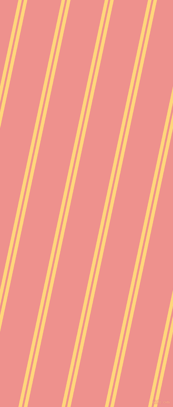 78 degree angles dual stripe line, 7 pixel line width, 4 and 69 pixels line spacing, Salomie and Sweet Pink dual two line striped seamless tileable