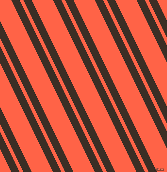 116 degree angles dual stripes line, 26 pixel line width, 12 and 67 pixels line spacing, Sambuca and Tomato dual two line striped seamless tileable