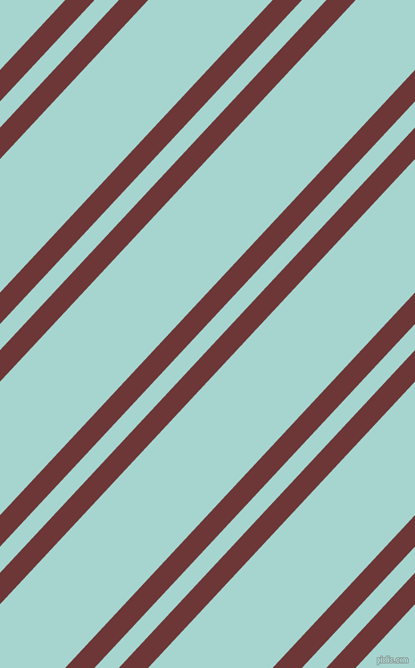 47 degree angle dual stripes line, 24 pixel line width, 20 and 102 pixel line spacing, Sanguine Brown and Sinbad dual two line striped seamless tileable