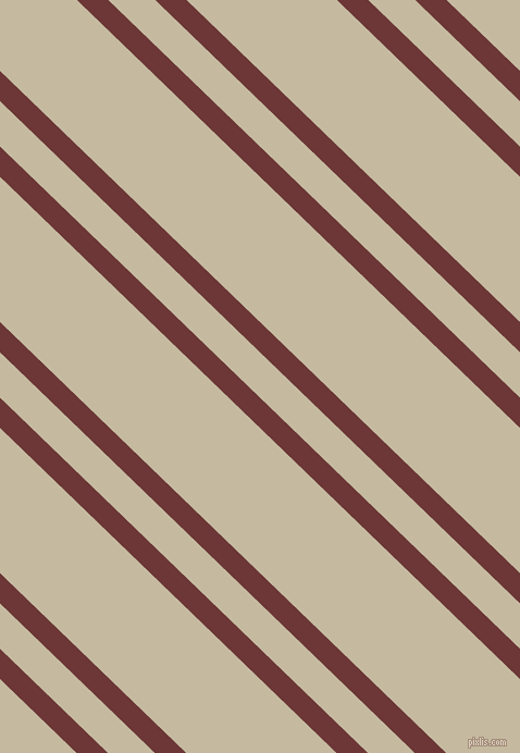 136 degree angle dual striped line, 20 pixel line width, 30 and 96 pixel line spacing, Sanguine Brown and Sisal dual two line striped seamless tileable