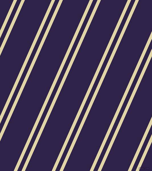 66 degree angle dual striped line, 11 pixel line width, 14 and 86 pixel line spacing, Sapling and Violent Violet dual two line striped seamless tileable