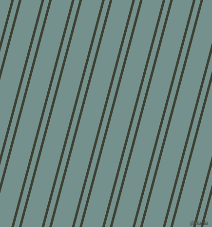 75 degree angle dual stripe line, 5 pixel line width, 10 and 40 pixel line spacing, Scrub and Juniper dual two line striped seamless tileable