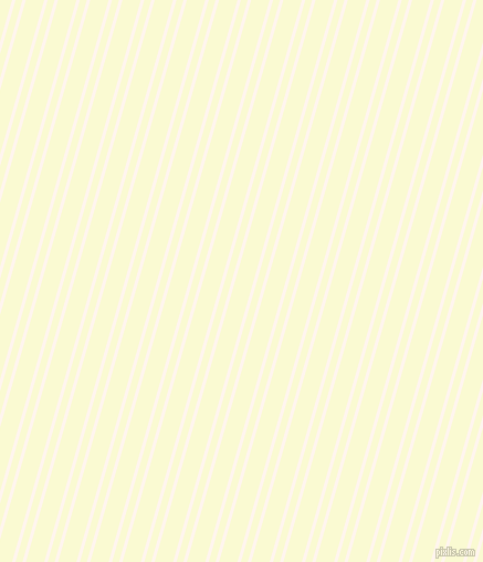 74 degree angle dual stripes lines, 3 pixel lines width, 6 and 16 pixel line spacing, Seashell and Light Goldenrod Yellow dual two line striped seamless tileable