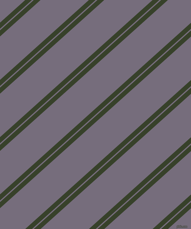 42 degree angles dual striped line, 15 pixel line width, 4 and 107 pixels line spacing, Seaweed and Mamba dual two line striped seamless tileable