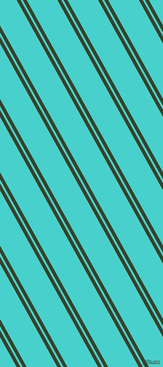 119 degree angle dual striped lines, 7 pixel lines width, 4 and 55 pixel line spacing, Seaweed and Medium Turquoise dual two line striped seamless tileable