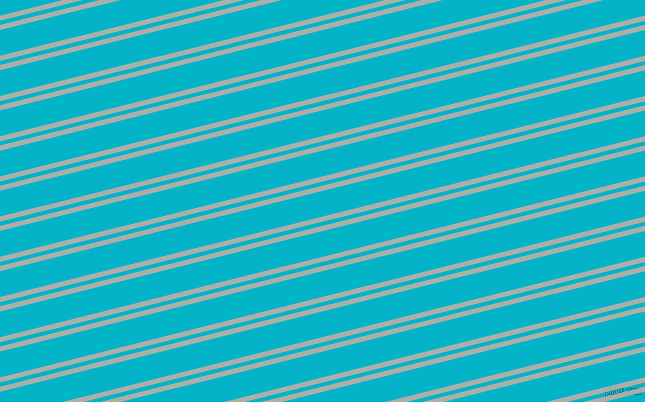 14 degree angle dual stripes lines, 5 pixel lines width, 4 and 25 pixel line spacing, Silver Chalice and Iris Blue dual two line striped seamless tileable