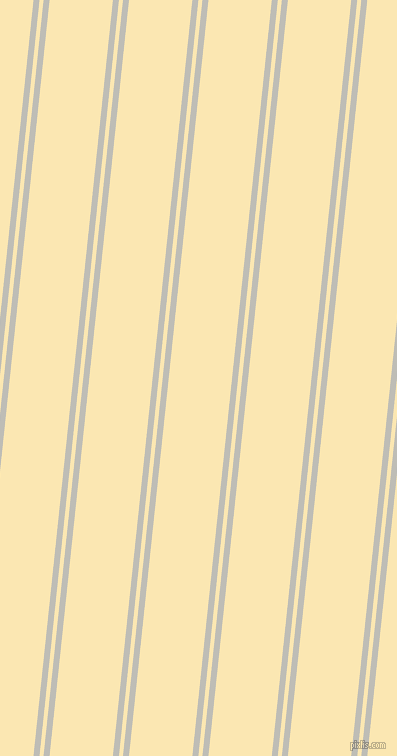 84 degree angle dual striped lines, 6 pixel lines width, 4 and 63 pixel line spacing, Silver Sand and Banana Mania dual two line striped seamless tileable
