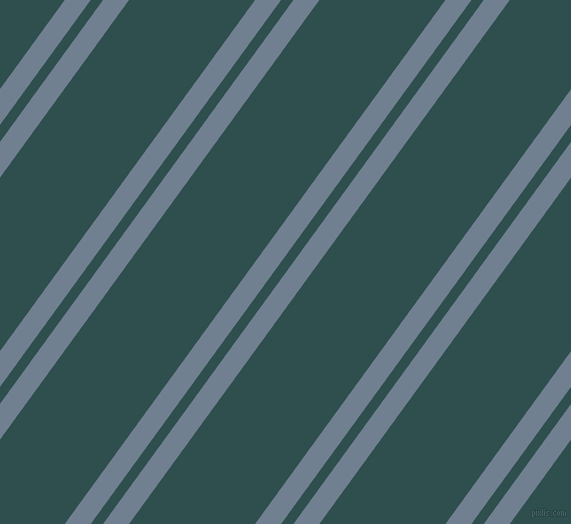 54 degree angle dual stripes lines, 21 pixel lines width, 10 and 102 pixel line spacing, Slate Grey and Dark Slate Grey dual two line striped seamless tileable