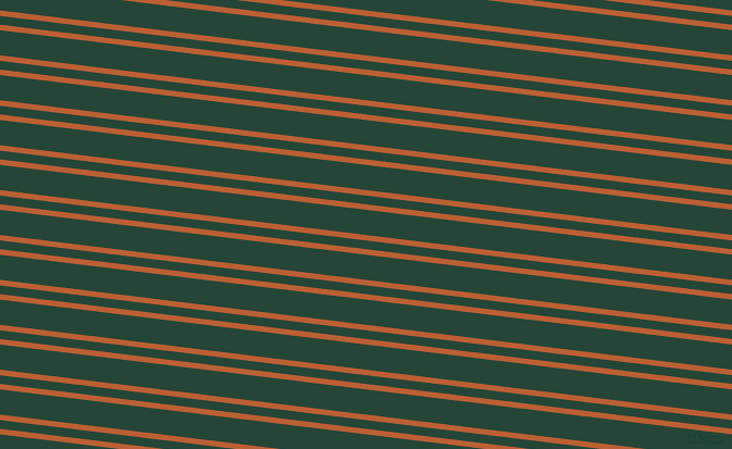 173 degree angle dual striped line, 5 pixel line width, 8 and 23 pixel line spacing, Smoke Tree and Bottle Green dual two line striped seamless tileable
