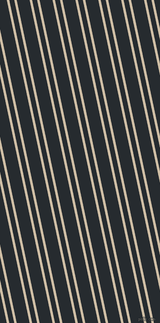 102 degree angles dual stripes lines, 5 pixel lines width, 10 and 26 pixels line spacing, Soft Amber and Blue Charcoal dual two line striped seamless tileable