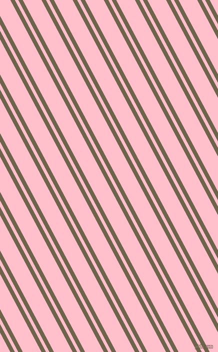 118 degree angle dual stripes line, 8 pixel line width, 6 and 33 pixel line spacing, Soya Bean and Pink dual two line striped seamless tileable