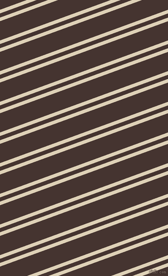 20 degree angle dual stripes lines, 7 pixel lines width, 8 and 37 pixel line spacing, Spanish White and Rebel dual two line striped seamless tileable