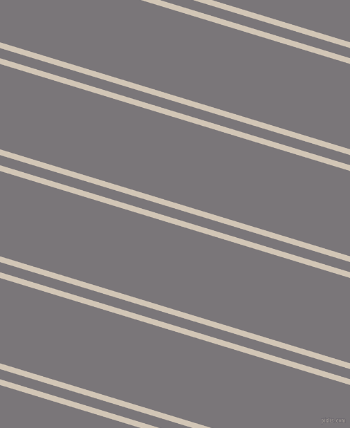 163 degree angle dual stripes lines, 8 pixel lines width, 14 and 118 pixel line spacing, Stark White and Monsoon dual two line striped seamless tileable