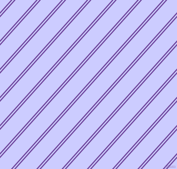48 degree angle dual striped lines, 4 pixel lines width, 4 and 52 pixel line spacing, Studio and Lavender Blue dual two line striped seamless tileable