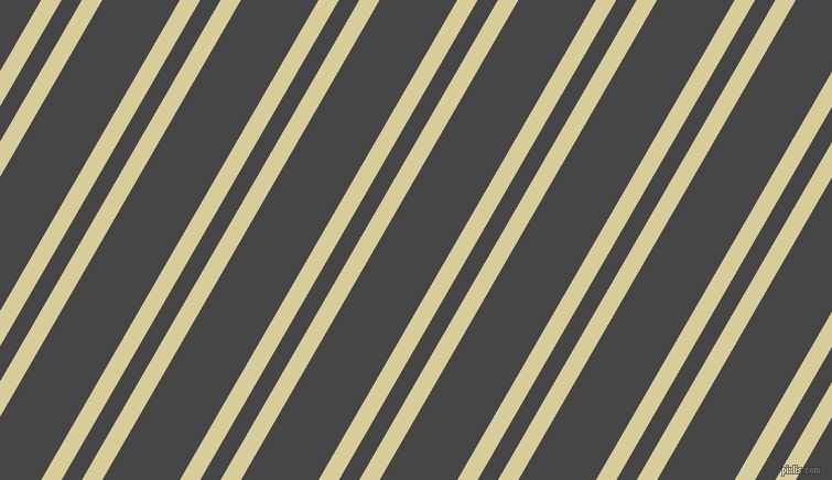 60 degree angle dual stripe line, 16 pixel line width, 16 and 61 pixel line spacing, Tahuna Sands and Charcoal dual two line striped seamless tileable