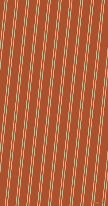 84 degree angle dual stripes lines, 3 pixel lines width, 4 and 25 pixel line spacing, Tan and Rose Of Sharon dual two line striped seamless tileable