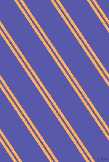 124 degree angles dual stripes line, 9 pixel line width, 6 and 78 pixels line spacing, Texas Rose and Rich Blue dual two line striped seamless tileable