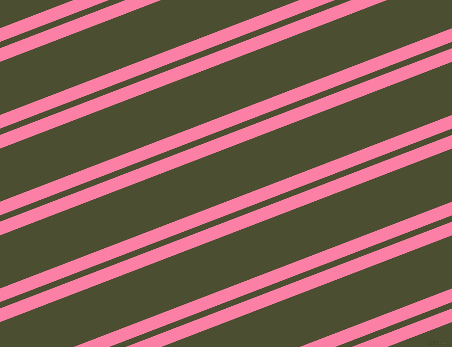 21 degree angle dual striped lines, 26 pixel lines width, 12 and 101 pixel line spacing, Tickle Me Pink and Waiouru dual two line striped seamless tileable