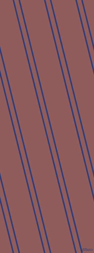 104 degree angles dual striped lines, 5 pixel lines width, 14 and 77 pixels line spacing, Torea Bay and Rose Taupe dual two line striped seamless tileable