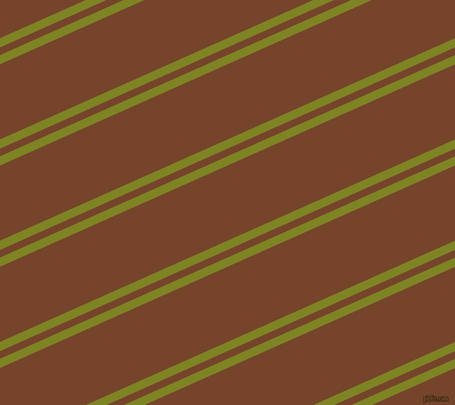 24 degree angle dual stripes line, 12 pixel line width, 10 and 98 pixel line spacing, Trendy Green and Bull Shot dual two line striped seamless tileable
