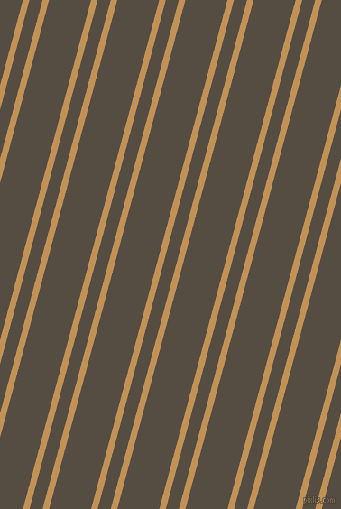 75 degree angle dual stripes line, 7 pixel line width, 14 and 45 pixel line spacing, Twine and Mondo dual two line striped seamless tileable