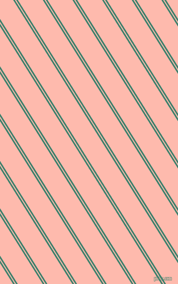 122 degree angles dual stripe lines, 3 pixel lines width, 2 and 42 pixels line spacing, Viridian and Melon dual two line striped seamless tileable