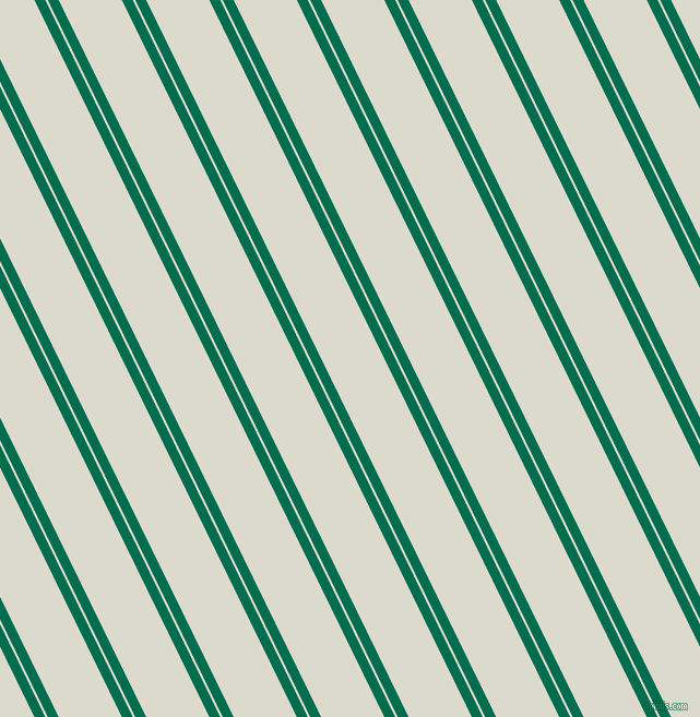116 degree angles dual stripe line, 9 pixel line width, 2 and 52 pixels line spacing, Watercourse and Milk White dual two line striped seamless tileable
