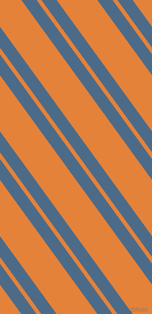 126 degree angles dual stripes line, 25 pixel line width, 8 and 67 pixels line spacing, Wedgewood and West Side dual two line striped seamless tileable
