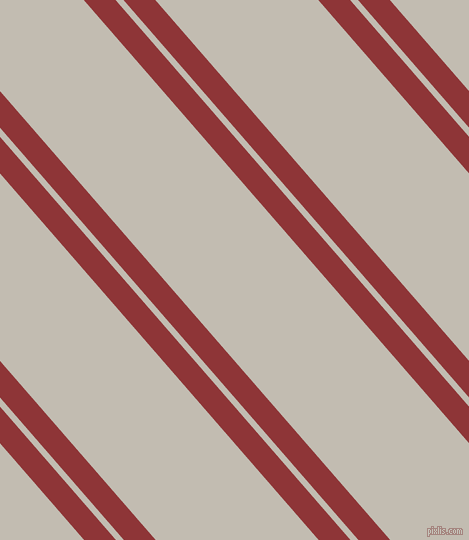 131 degree angles dual striped line, 24 pixel line width, 6 and 123 pixels line spacing, Well Read and Cloud dual two line striped seamless tileable