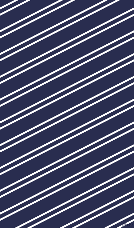 27 degree angle dual stripe line, 6 pixel line width, 12 and 42 pixel line spacing, White and Lucky Point dual two line striped seamless tileable