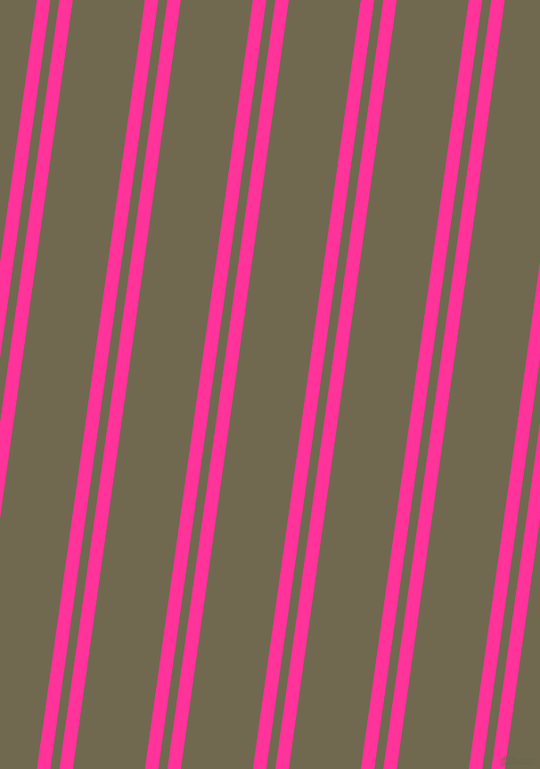 82 degree angle dual striped line, 15 pixel line width, 10 and 80 pixel line spacing, Wild Strawberry and Crocodile dual two line striped seamless tileable