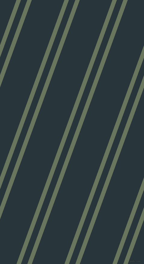 70 degree angles dual stripe lines, 14 pixel lines width, 20 and 102 pixels line spacing, Willow Grove and Oxford Blue dual two line striped seamless tileable