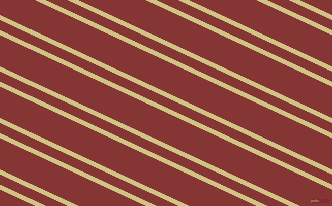 155 degree angles dual stripes lines, 9 pixel lines width, 18 and 56 pixels line spacing, Winter Hazel and Tall Poppy dual two line striped seamless tileable