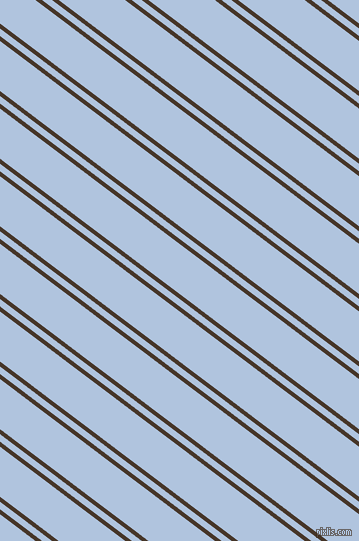 143 degree angle dual stripes lines, 4 pixel lines width, 6 and 40 pixel line spacing, Woodburn and Light Steel Blue dual two line striped seamless tileable