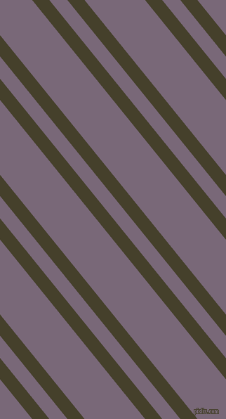 129 degree angles dual stripe lines, 19 pixel lines width, 20 and 67 pixels line spacing, Woodrush and Old Lavender dual two line striped seamless tileable